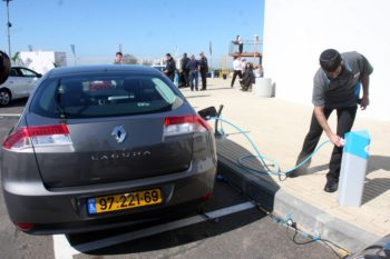 Better Place, Electric Car Israel