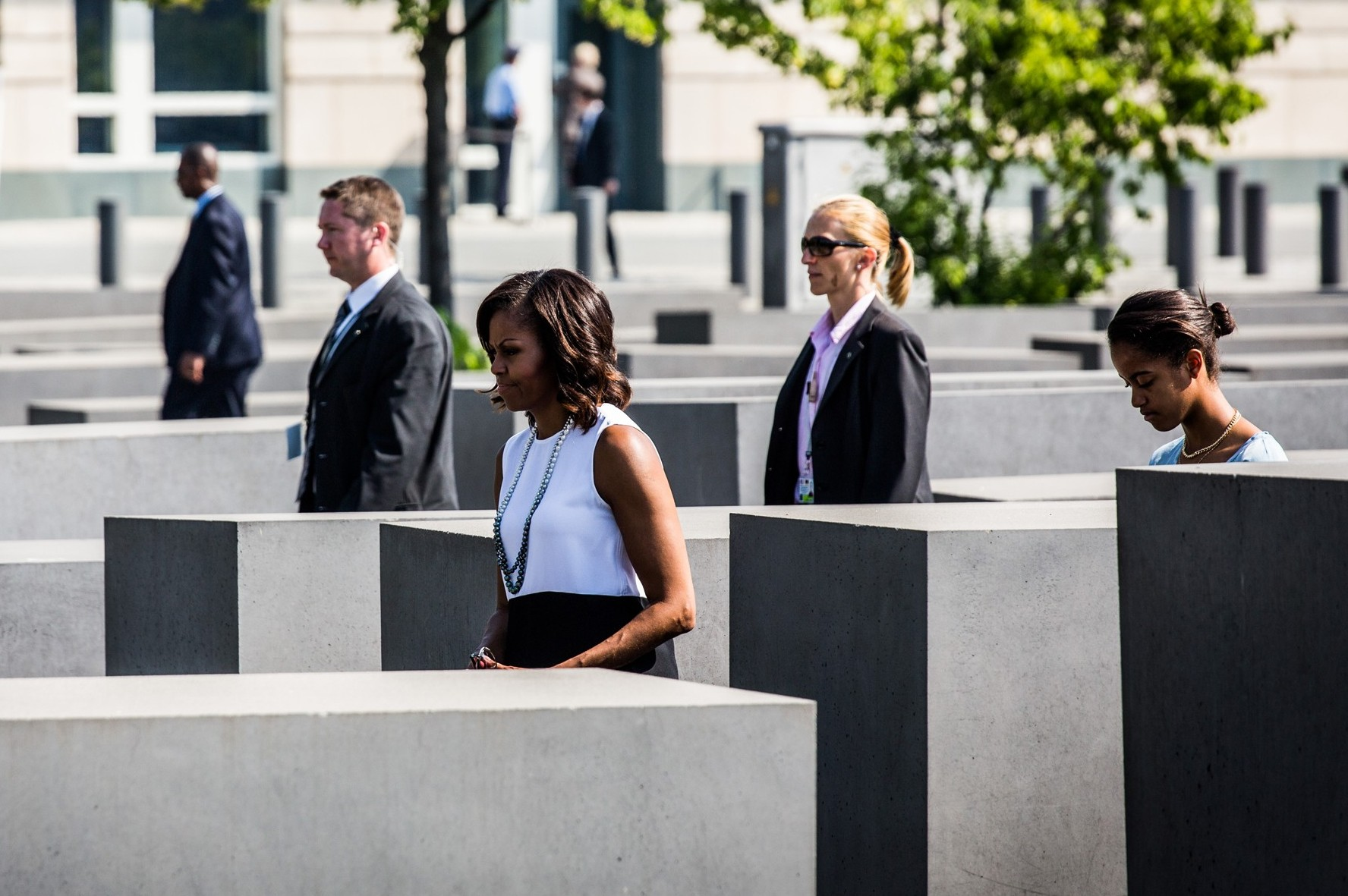Michelle Obama Holocaust, Malia Obama Holocaust