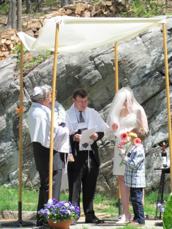 conversion wedding, jewish wedding converted
