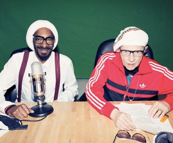 Watch Snoop Lion Helps Larry King Become First Jewish