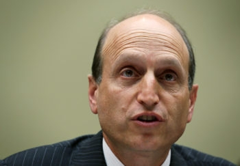 Massachusetts state Sen. Daniel Wolf testifying at a hearing before a U.S. House committee in Washington, July 10, 2012. (Alex Wong/Getty)
