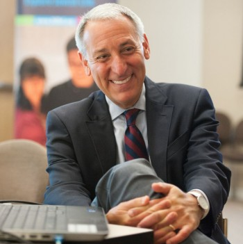 Eric Fingerhut is set to start in August as the president and CEO of Hillel. (Courtesy Hillel)