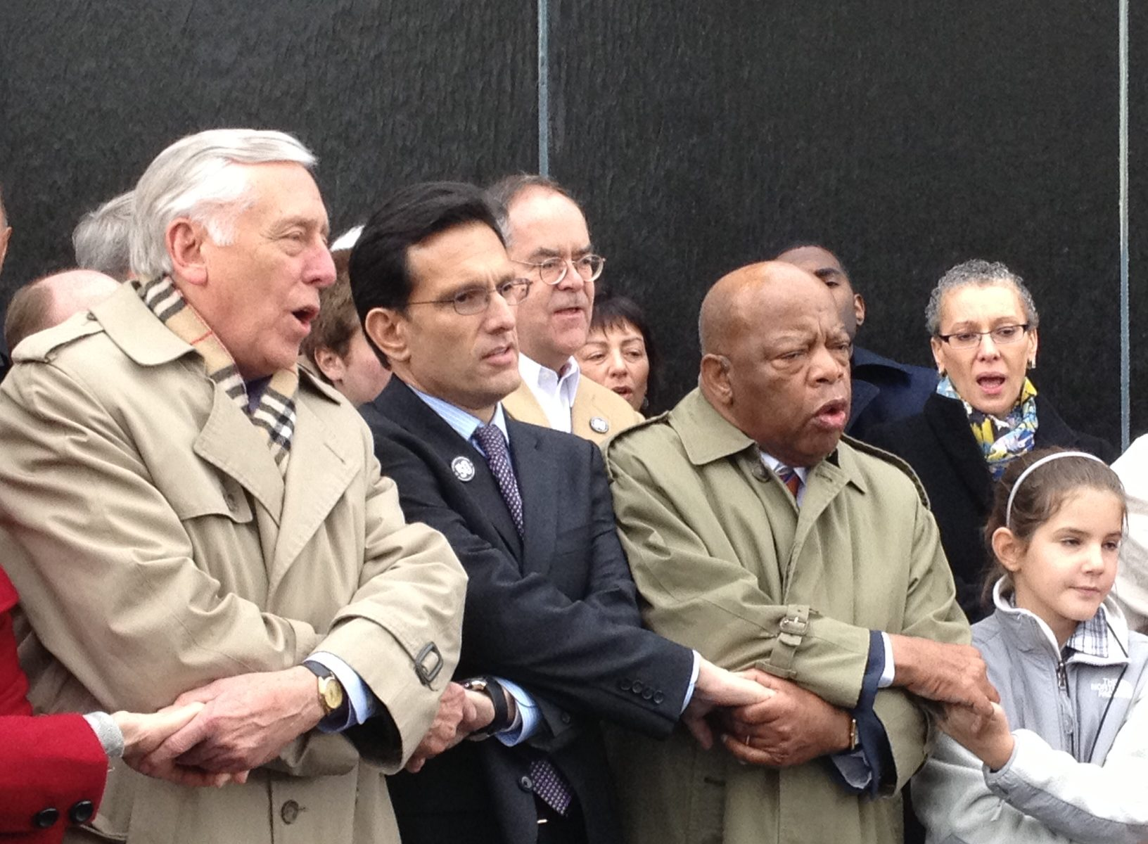 Steny Hoyer, Eric Cantor, John Lewis, Steny Hoyer Eric Cantor John Lewis, civil rights alabama, civil rights jewish