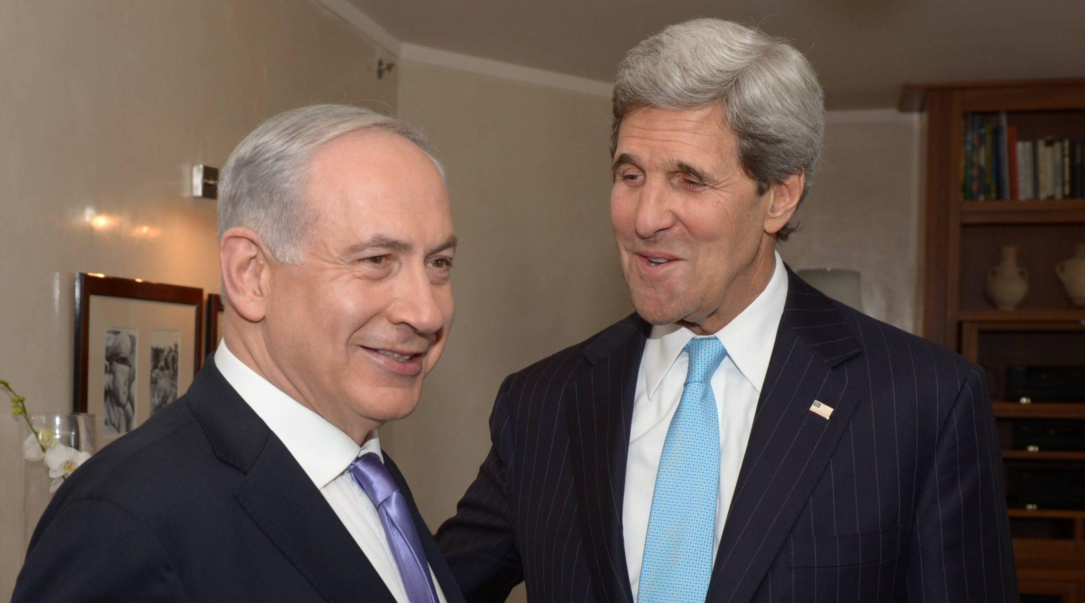 Netanyahu, Kerry, Netanyahu Kerry