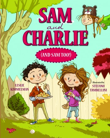 "One of the five stories in ""Sam and Charlie (and Sam Too!)"" offers a learning experience about the meaning of Yom Kippur, the holiday of forgiveness. (Courtesy Albert Whitman & Company)"