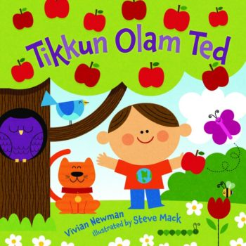 """Tikkun Olam Ted"" is engaging for younger children and could be inspiring for older kids. (Courtesy Kar-Ben Publishing)"
