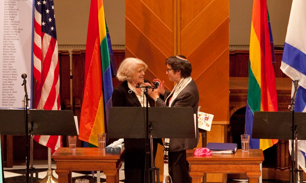 Edith Windsor, Edith Windsor jewish, Edith Windsor synagogue. Edith Windsor Kleinbaum
