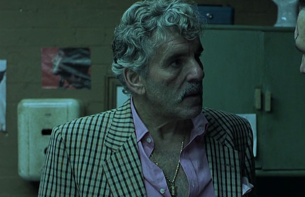 Dennis Farina as Cousin Avi in the 2000 film Snatch. (Columbia Pictures)
