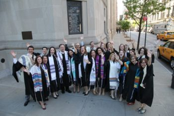 HUC-JIR New York ordination at Congregation Emanu-El on May 5.
