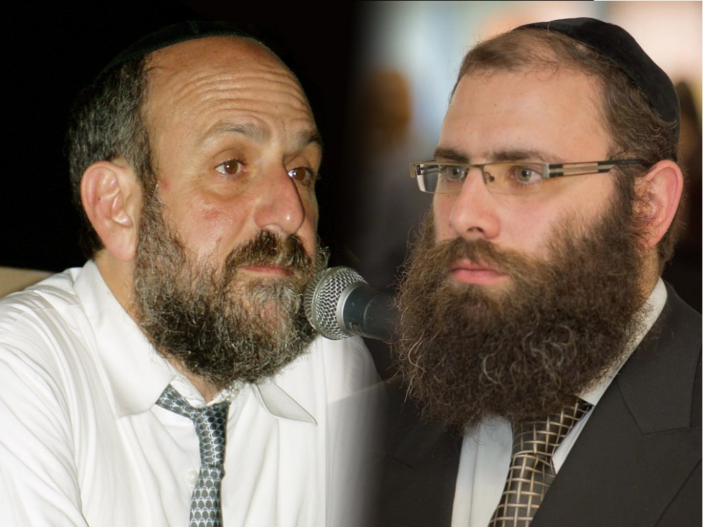 Polish Chief Rabbi Michael Schudrich, left, and Rabbi Menachem Margolin of the Chabad-affiliated Rabbinical Centre of Europe have been at odds publicly over Schudrich's handling of the kosher slaughter case in Poland. (Creative Commons/Facebook)