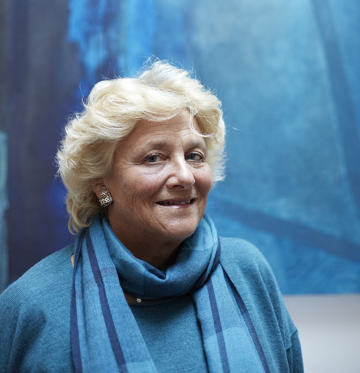 Philanthropist Vivien Duffield initiated the JW3 project with a $56 million grant. (Maria Spann)