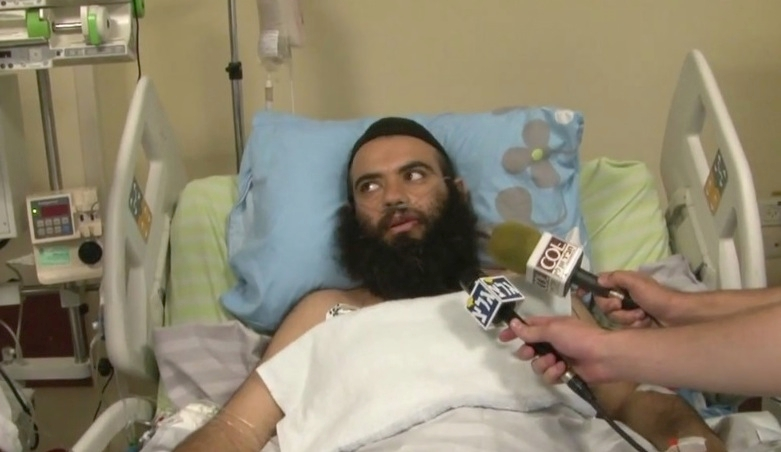 Rabbi Ovadia Isakov is recovering in an Israeli hospital after being shot outside his home in Derbent. (YouTube/Shneor Schiff )
