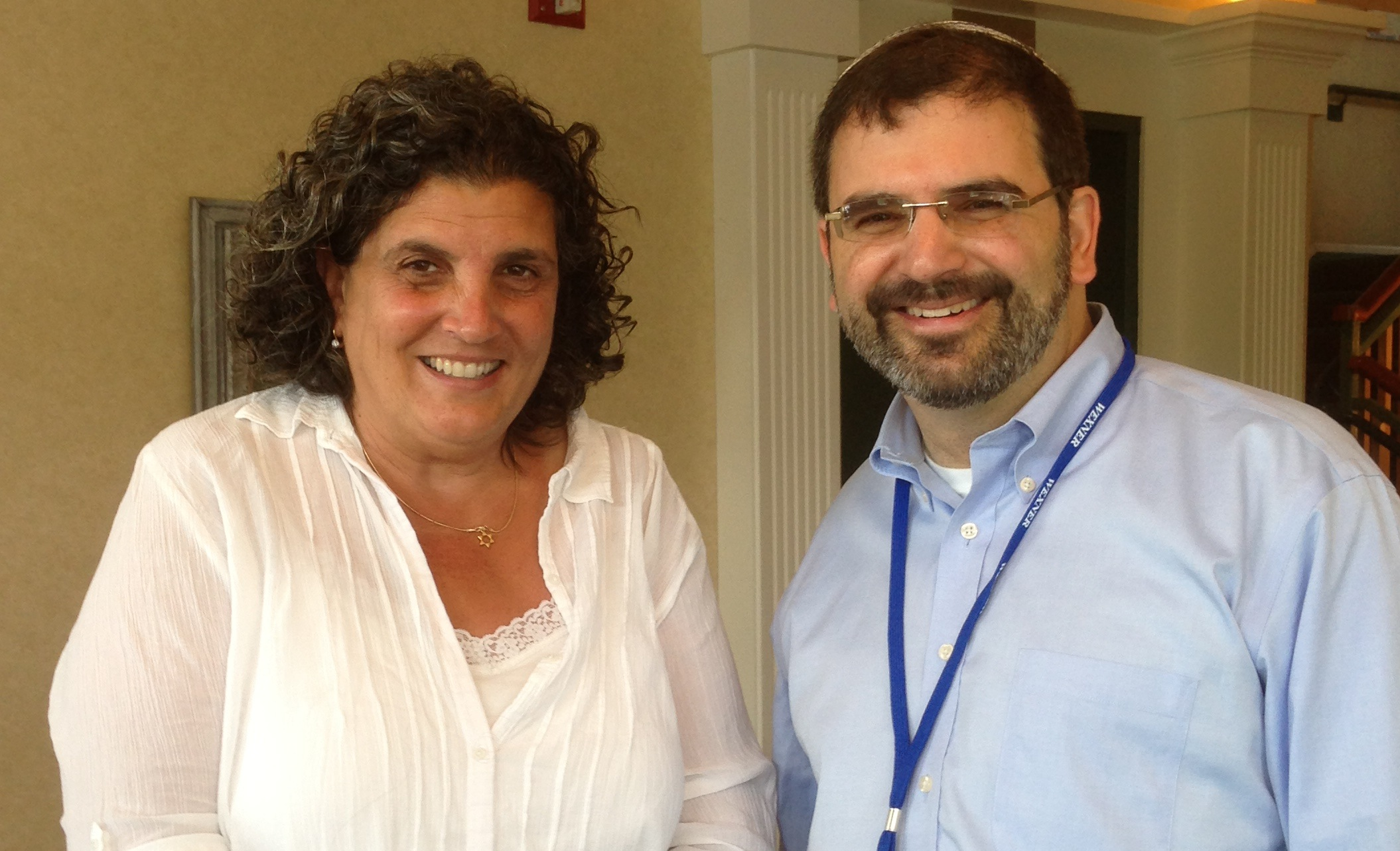 Rabbi Asher Lopatin will mark his installation as president of Yeshivat Chovevei Torah with a round-table discussion with Rabbi B. Elka Abrahamson, left, and other non-Orthodox leaders.
