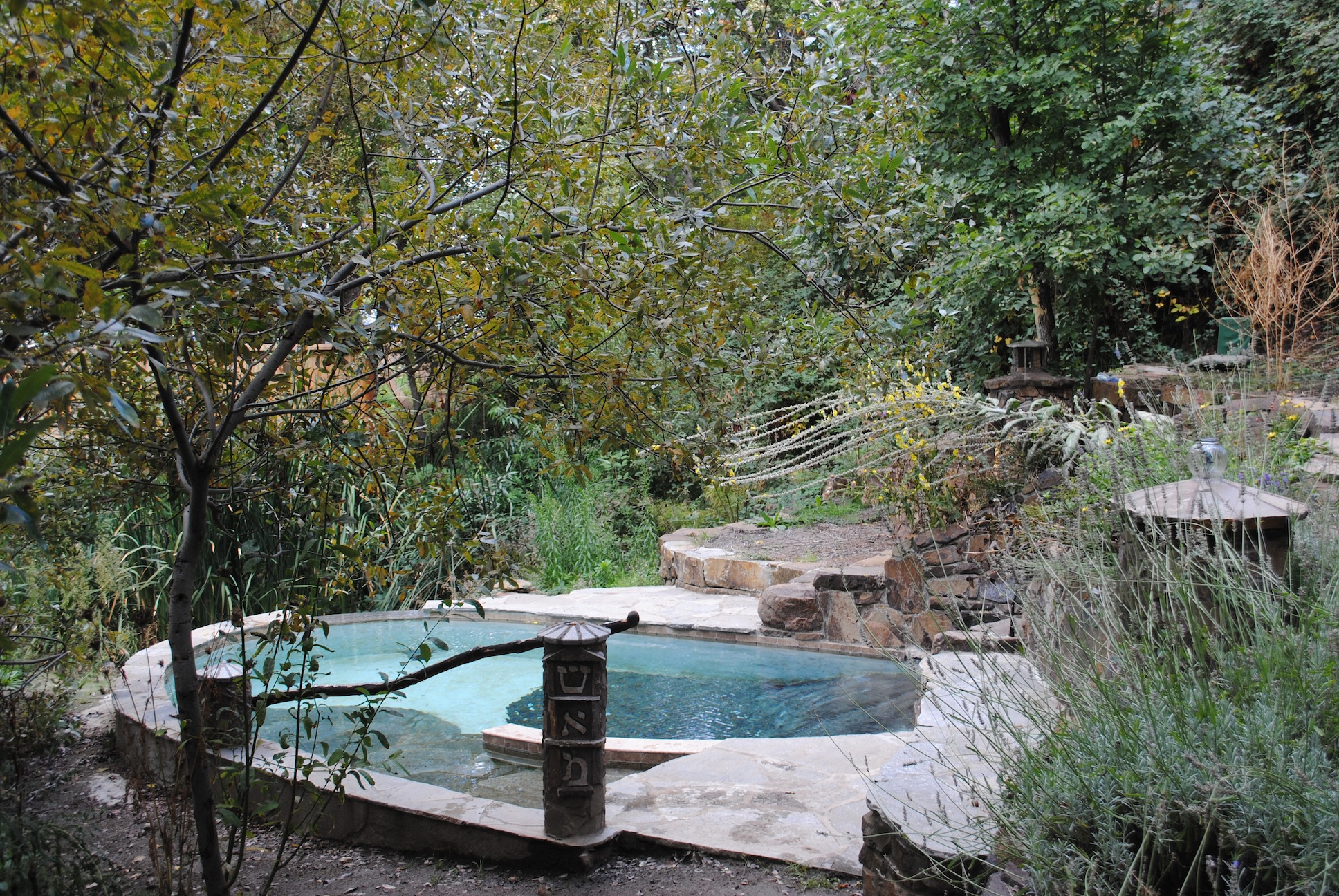 Ashland S Mikvah Located At The Jackson Wellsprings Spa Is Fed By An Underground Aquifer