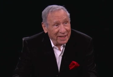 "Mel Brooks on the Oct. 21, 2013 episode of Conan O'Brien's Web series ""Serious-Jibber Jabber."""