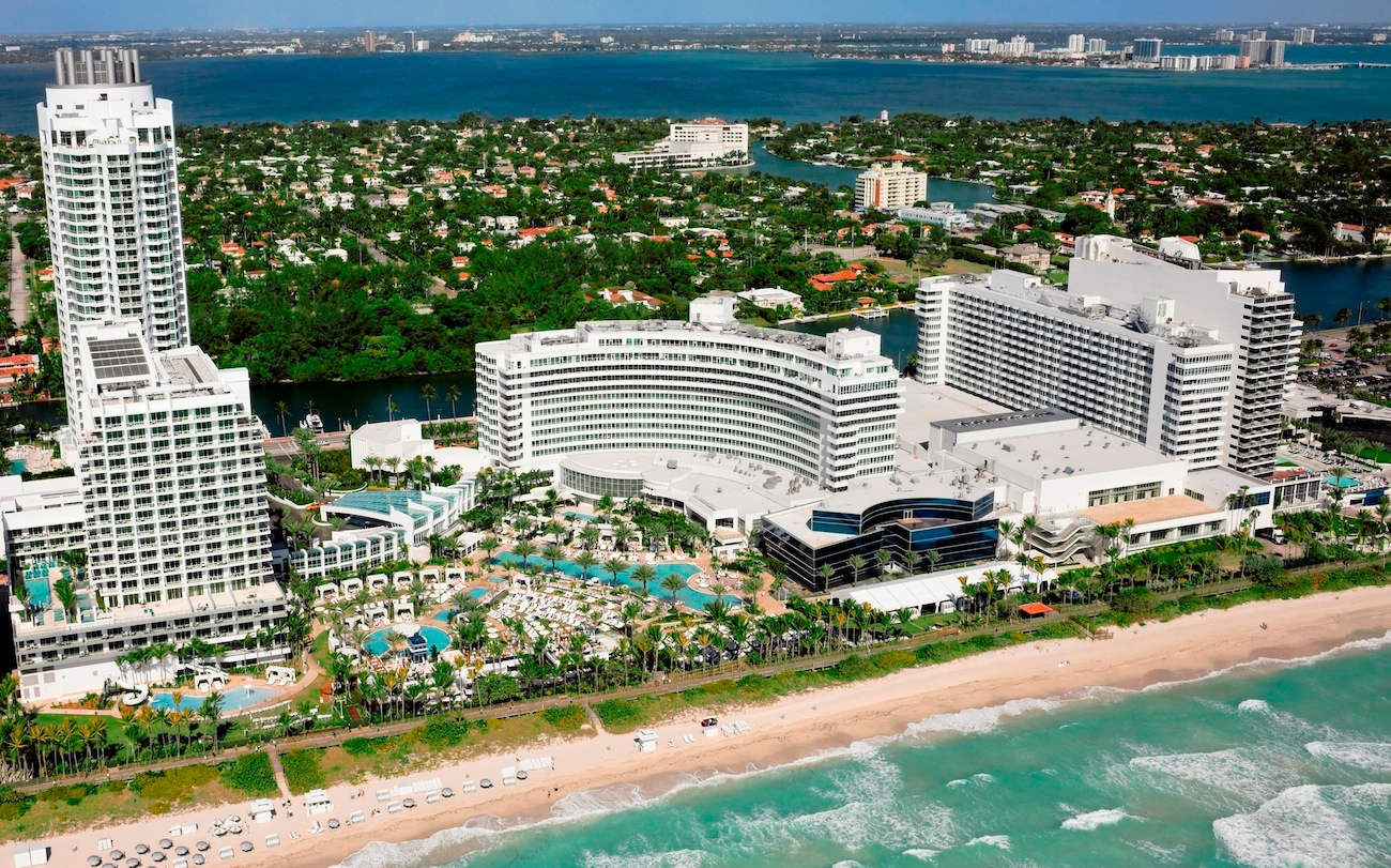 The Fontainebleau Hotel Miami Beach