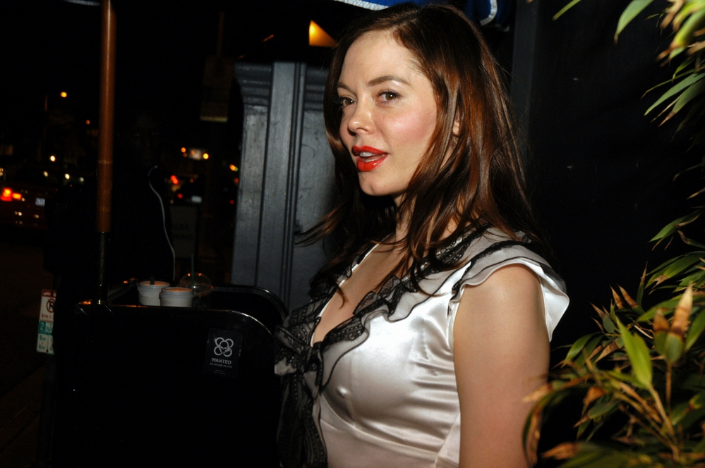 Rose McGowan t the HollyShorts Film Festival in 2010.