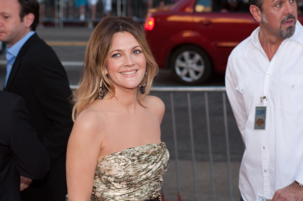 "Drew Barrymore at the going ""Going the Distance"" Los Angeles premiere in 2010. (Allen Berezovsky/PR Photos)"