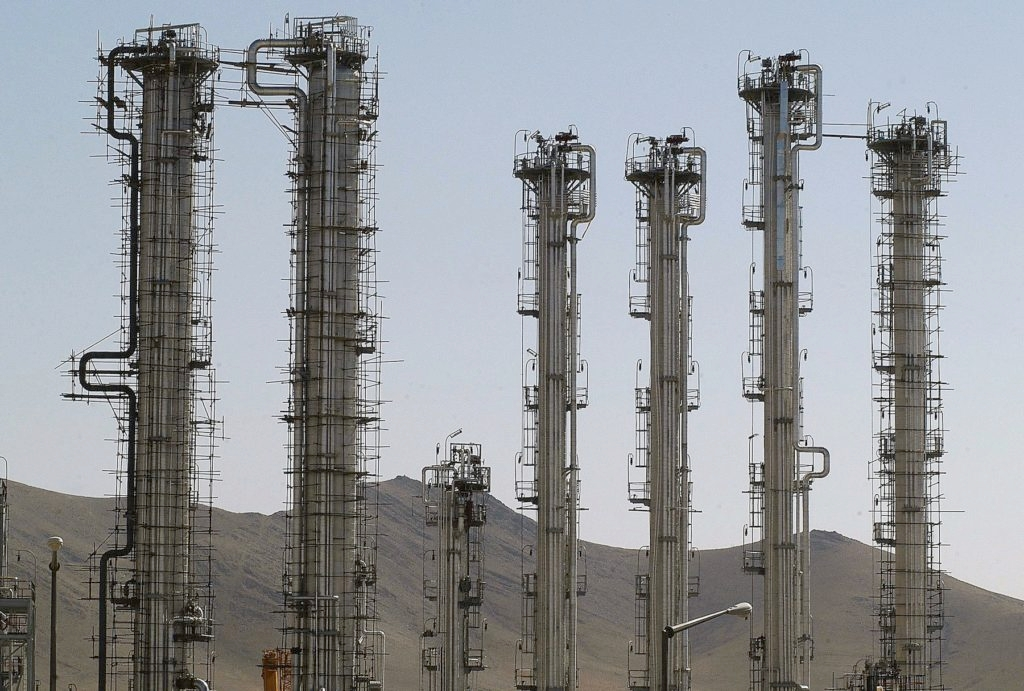 "Under the terms of an agreement reached last month, Iran has vowed not to make ""any further advances of its activities"" at its reactor in Arak. (Majid Saeedi/Getty Images)"