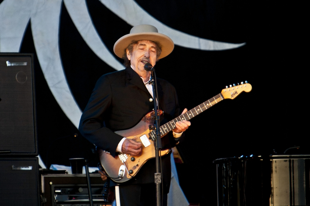 Bob Dylan plays at the 5th Annual Hop Farm Music Festival in England in 2012. (Landmark/PR Photos)