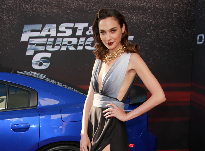 "Gal Gadot attends the ""Fast & Furious 6"" Los Angeles premiere on May 21, 2013. (Andrew Evans/PR Photos)"