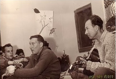 Pete Seeger performed at Kibbutz Kfar Azza in 1964.