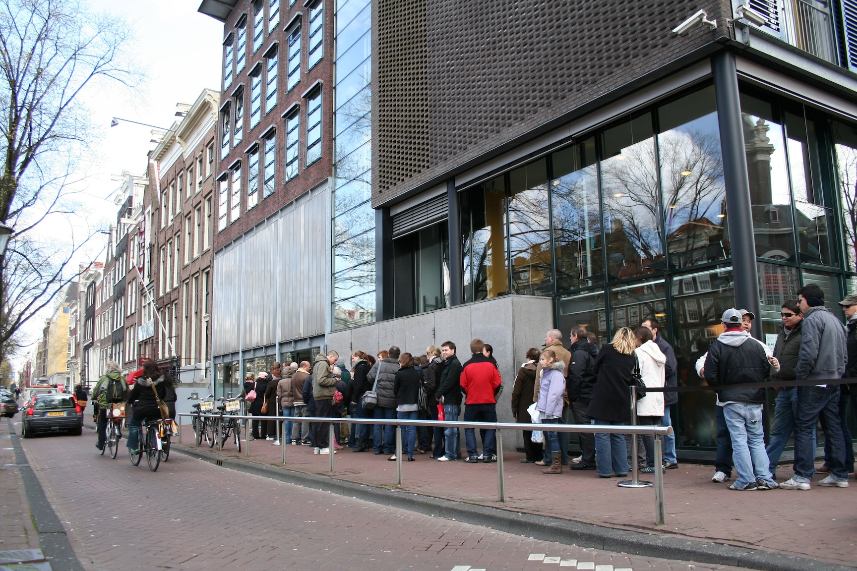 The Anne Frank House Museum in Amsterdam, Netherlands. (Wikimedia Commons)