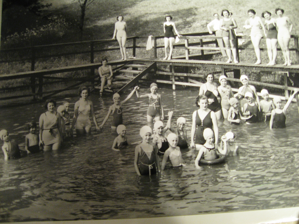 "Camp Kweebec, date unknown (Courtesy of the National Museum of American Jewish History's ""Go To Camp!"" exhibition and interactive)"