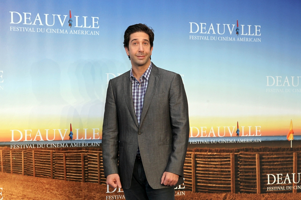 David Schwimmer at the Deauville Film Festival. (Pixplanete/PR Photos)