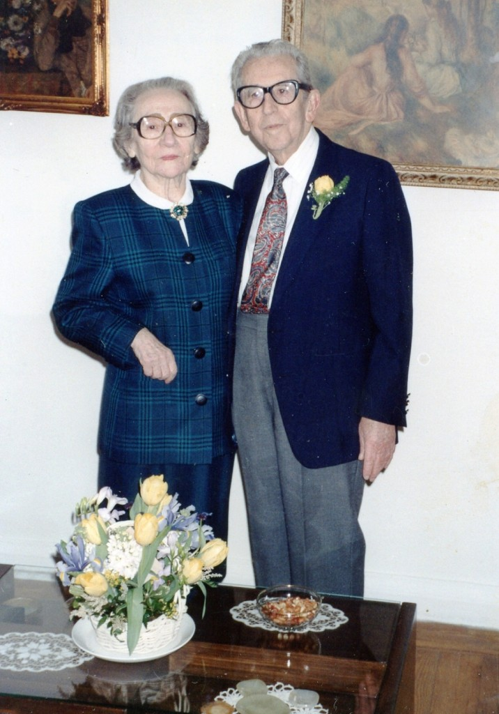 Gisela and Bernard Dollinger on their 60th wedding anniversary.