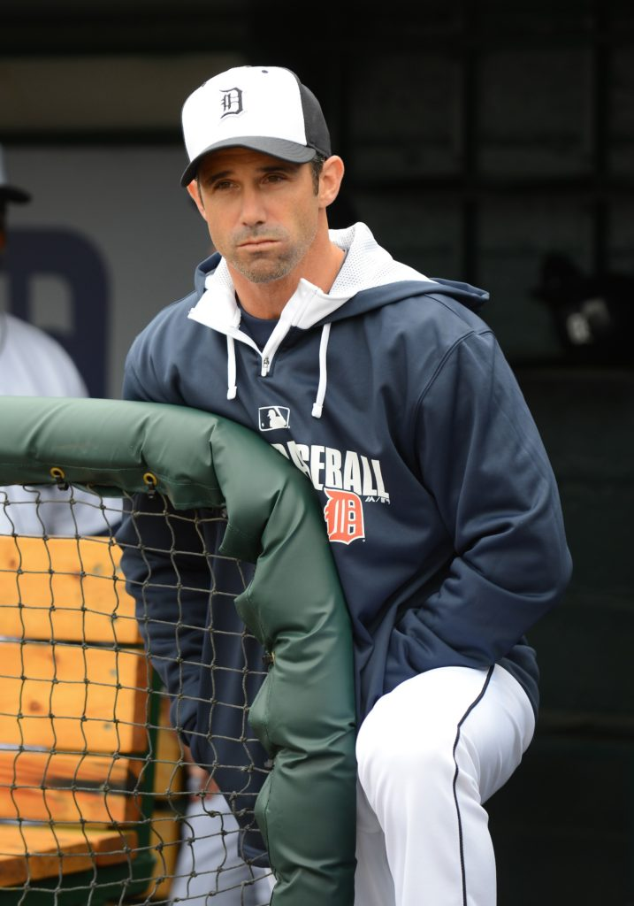 Brad Ausmus, manager of the Detroit Tigers (Detroit Tigers)