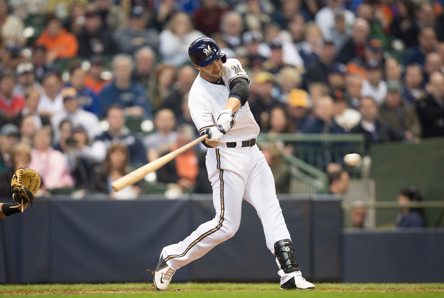 All-Star Ryan Braun of the Milwaukee Brewers is coming back from postseason lower-back surgery that affected him even through spring training. (Scott Paulus/Milwaukee Brewers)