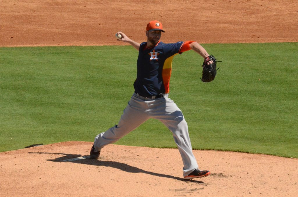 Scott Feldman of the Houston Astros (James McCoughan)