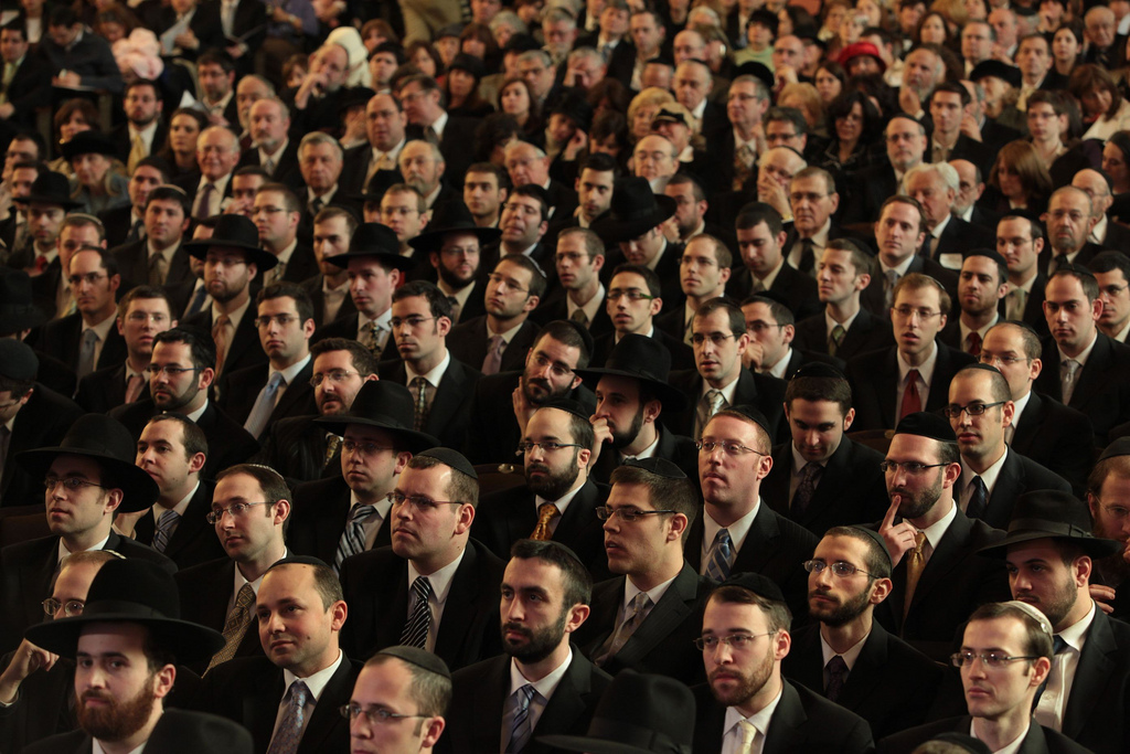 Yeshiva University's last Chag Hasemikhah ordination celebration, in March 2010, feted 200 or so rabbis who had been ordained in the previous four years. (Y.U.)