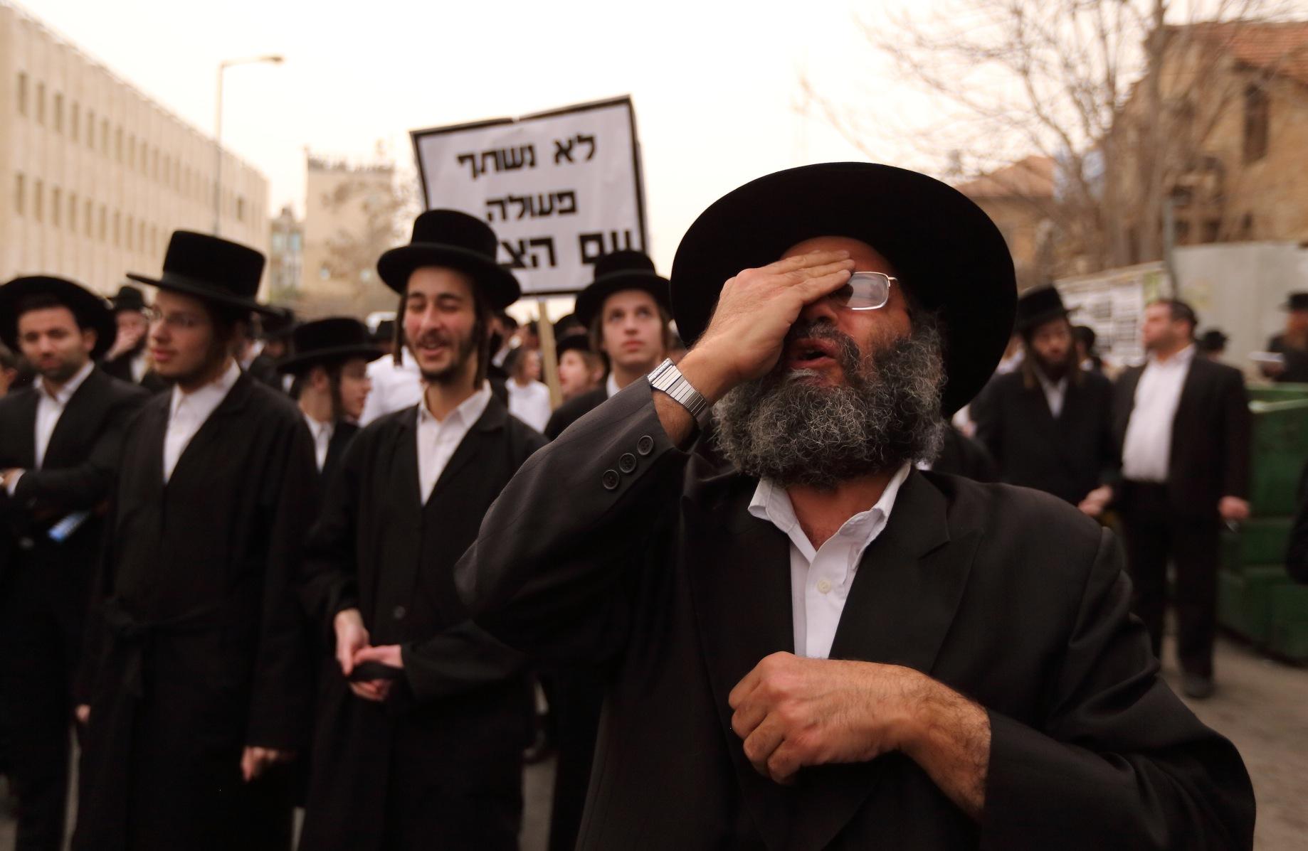 Haredi Orthodox Israelis Dodge Draft Law Jewish