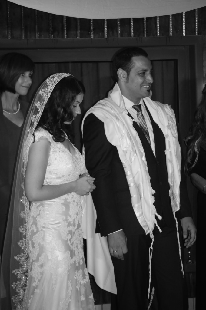 The Rabbinical Council of America's refusal to vouch for the validity of Karen Brunwasser's conversion to Judaism nearly derailed her Aug. 29, 2013 wedding in Israel to Lior Shabo. (Yoram Amir)