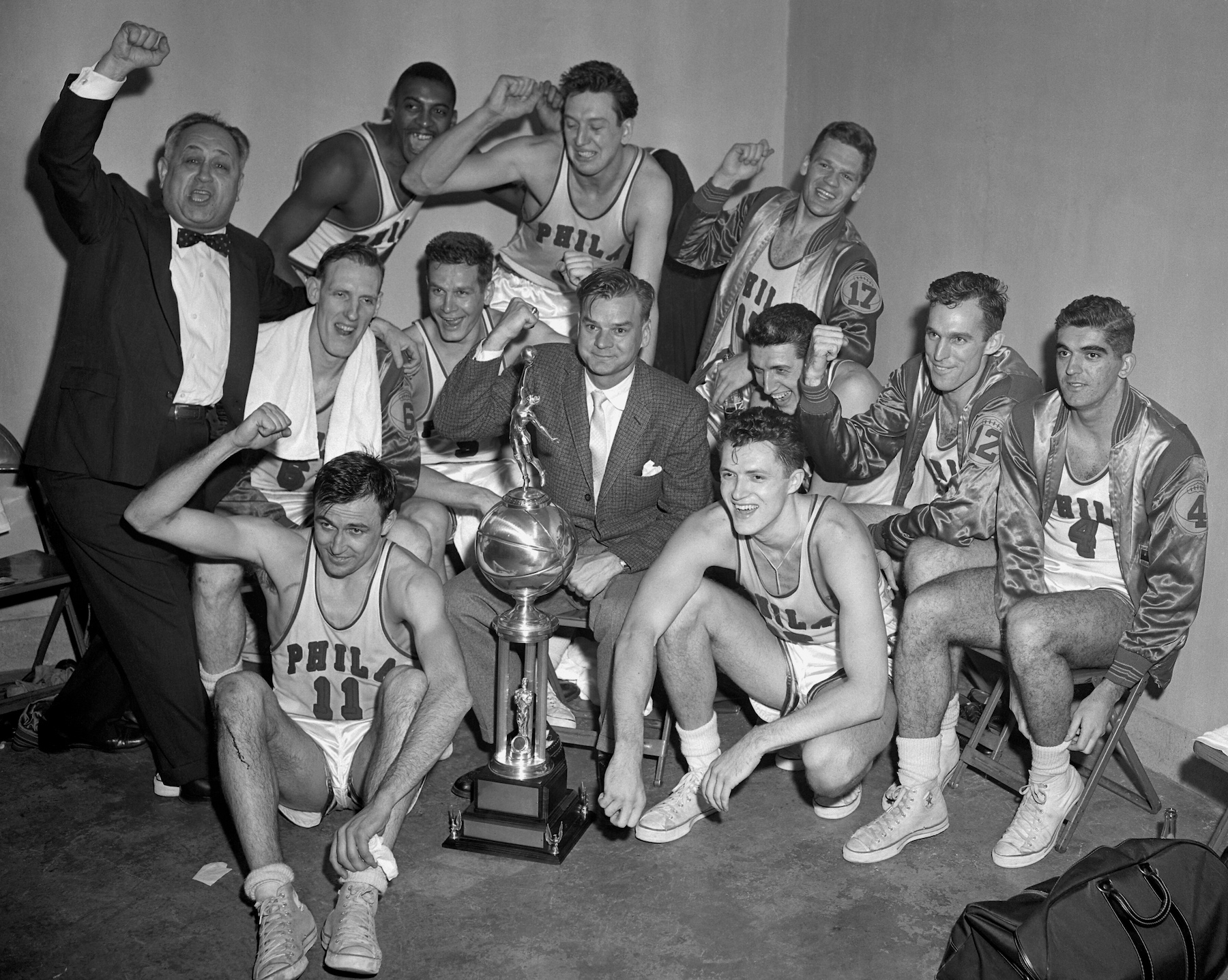 Philly historian scores in bid to have NBA pioneer Eddie Gottlieb honored | Jewish Telegraphic ...