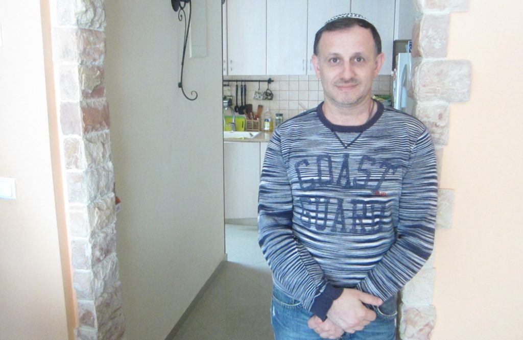 Yuriy Yukhatskov has been trying to immigrate to Israel for three years, but has been denied due to what he says is an error he made filling out a form.
