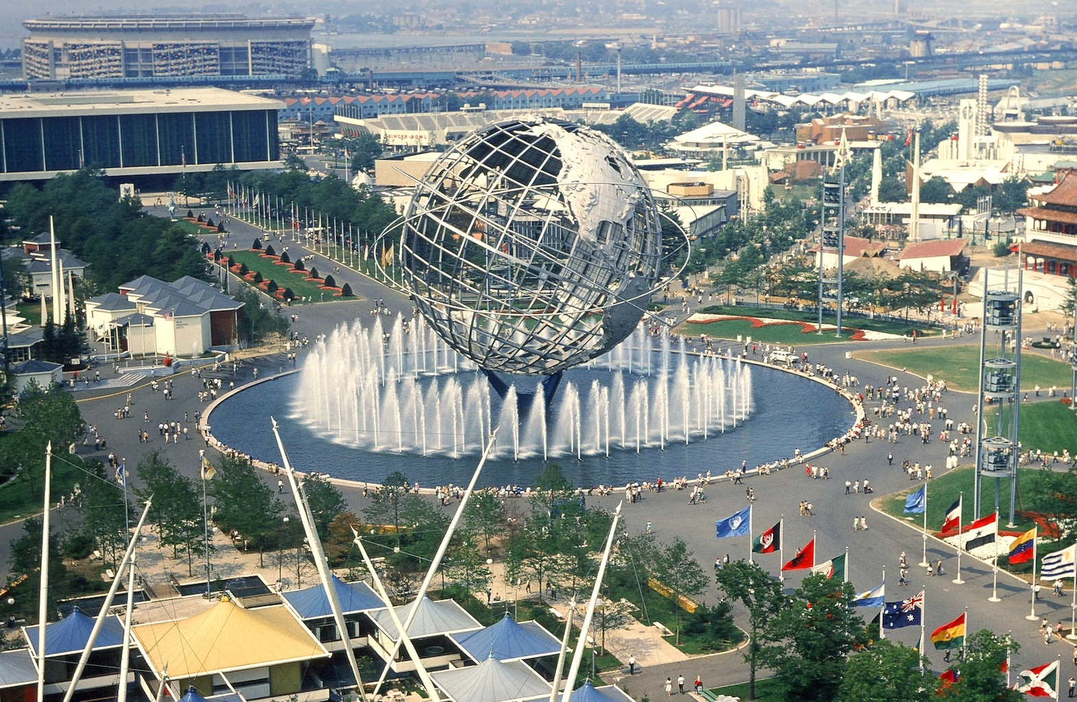 In the years leading up to the 1964 World's Fair, in the New York City ...: www.jta.org/2014/04/25/news-opinion/the-telegraph/from-the-archives...