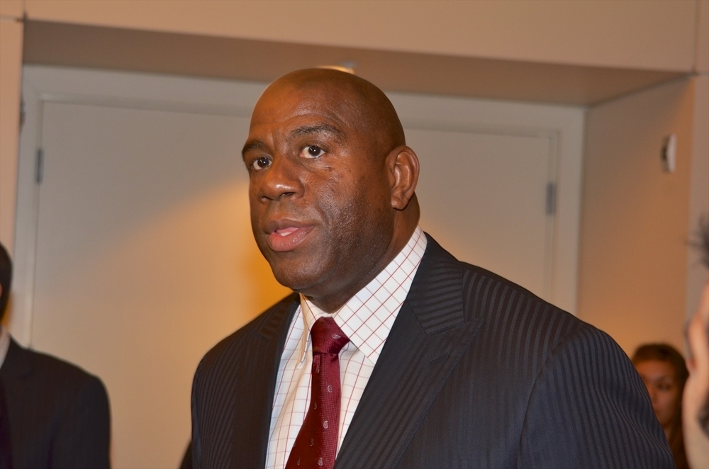 Magic Johnson: Donald Sterling won't ruin black-Jewish relations. (Billy Bennight/PR Photos)