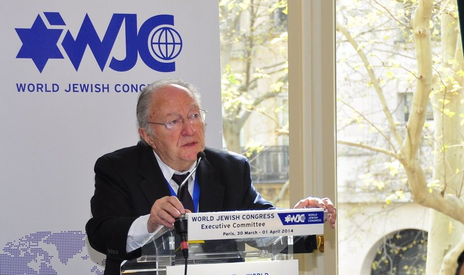 Roger Cukierman, president of the umbrella group for France's Jewish organizations, sees threats from three sectors. (Courtesy World Jewish Congress)