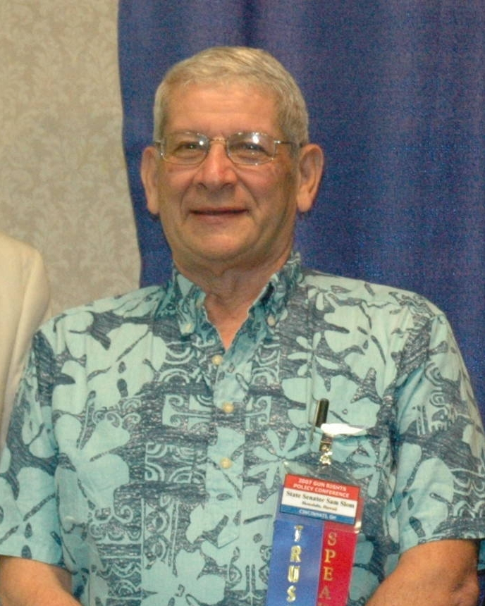 Sam Slom is the only Republican in the Hawaii State Senate. (Wikimedia Commons)