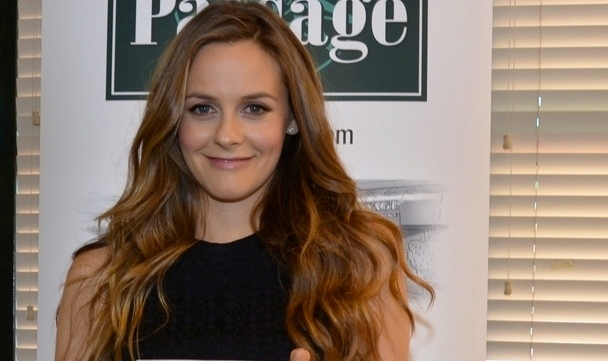 "Alicia Silverstone appears at a book signing for ""The Kind Mama"" at the Book Passage in Corte Madera, Calif., on April 22, 2014  - Book Passage - Corte Madera, CA. (Jonathan  Shensa / PR Photos)"