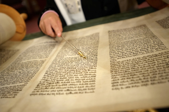 The text of today's Torah scrolls differs from the versions of the biblical books that existed millennia ago. (Konstantin Goldenberg/Shutterstock)