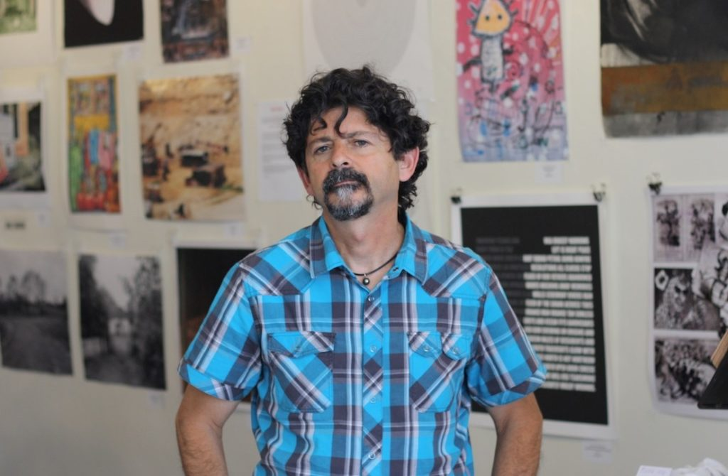 Jordan Elgrably is the executive director of the Levantine Cultural Center in Los Angeles. (Anthony Weiss/JTA)
