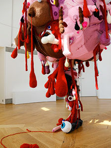 Crocheting Holocaust Rape Into Art