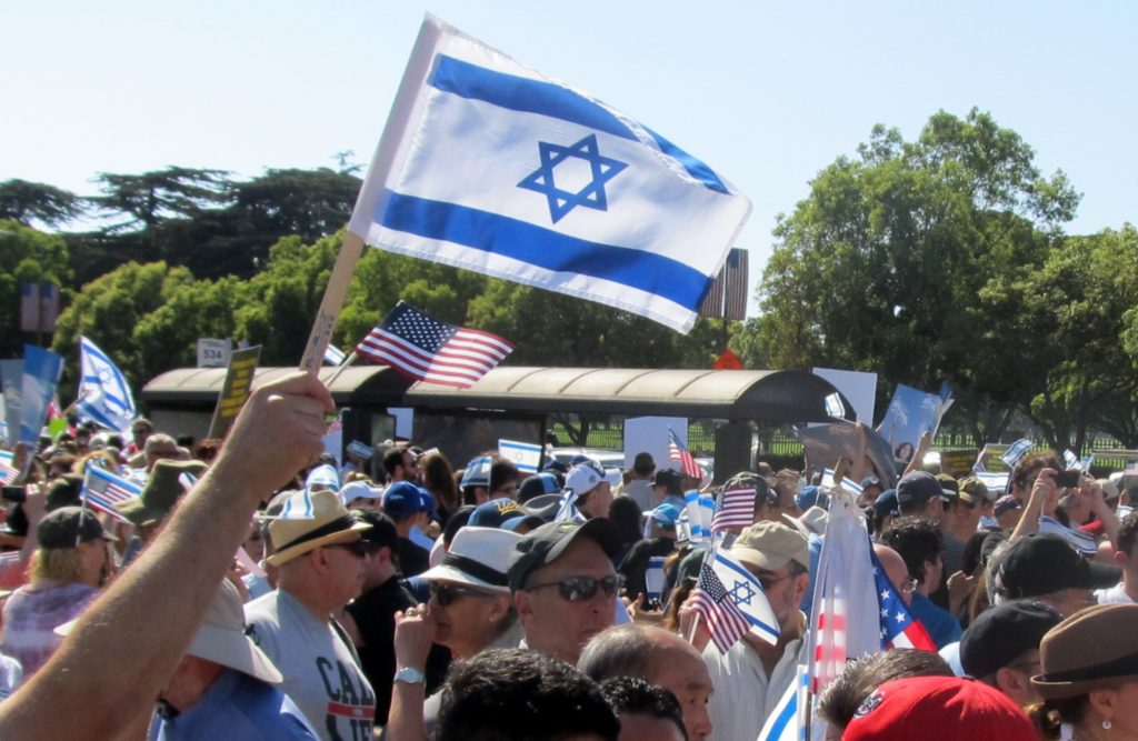 At a pro-Israel rally in Los Angeles, the author began to find new meanings for why we mourn on Tisha b'Av. (Edmon J. Rodman)