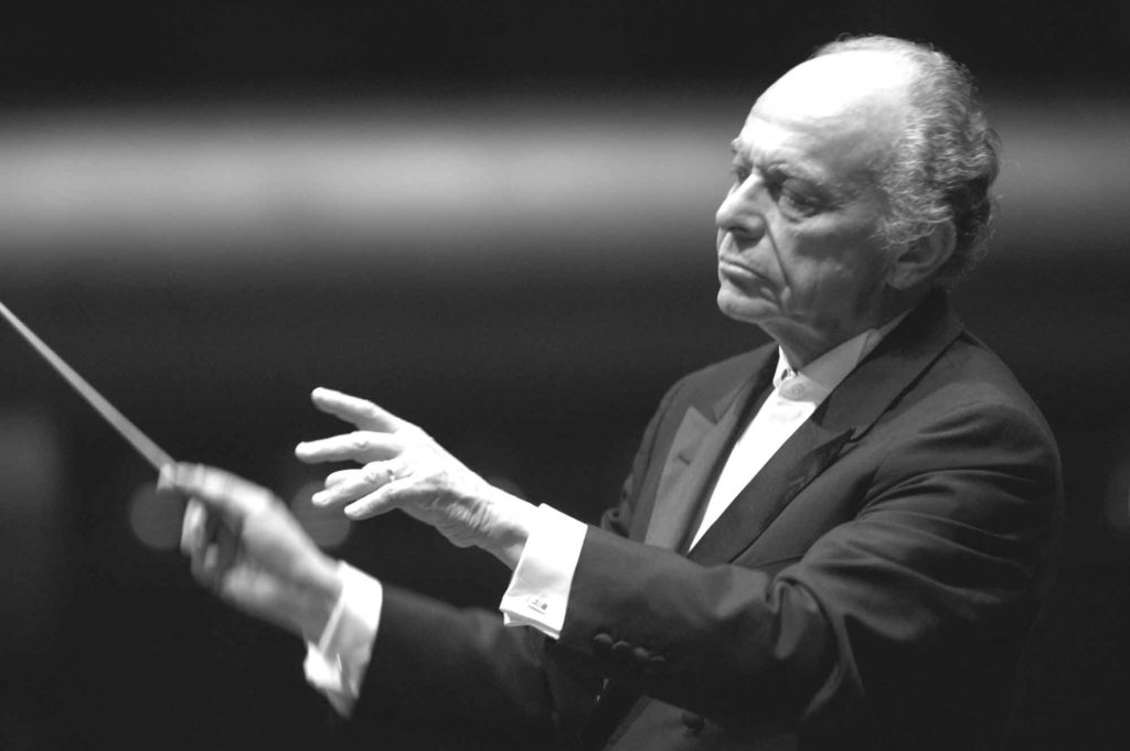 Lorin Maazel, who died on July 13, 2014, was (Wikimedia Commons)