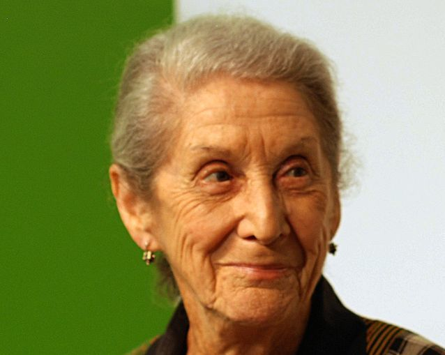 Nadine Gordimer, shown at the Göteborg Book Fair in 2010, was known for her criticism of apartheid South Africa. (Bengt Oberger/Wikimedia Commons)