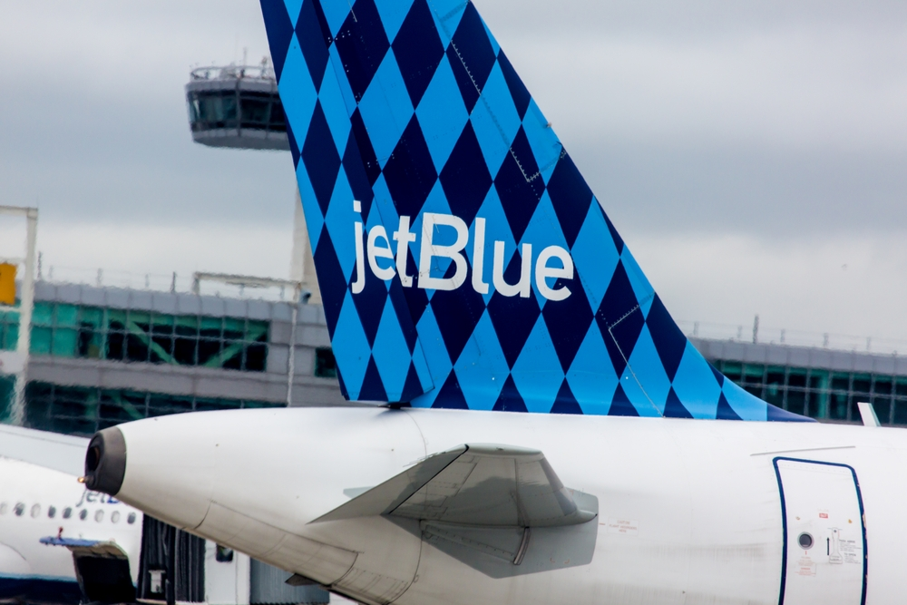 A Jewish woman was asked to leave a JetBlue flight from Florida to New York following an argument about the Israeli-Palestinian conflict. (Shutterstock)